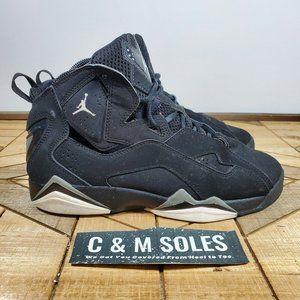 Nike Air Jordan True Flight GS Black Suede